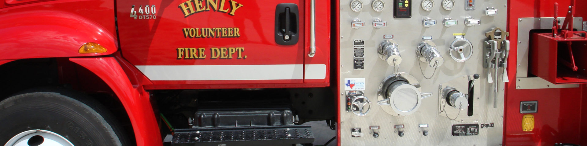 Henly South Fire Trucks