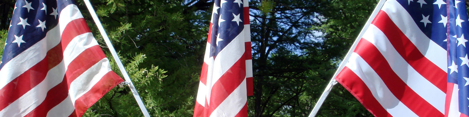 4th July Wimberley Flags