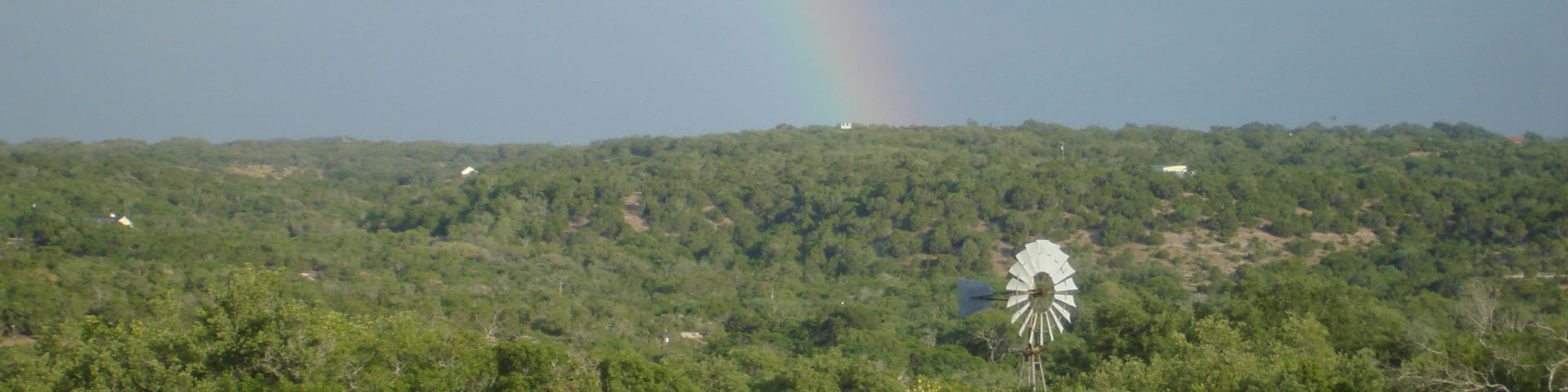 Hill Country Rainbow
